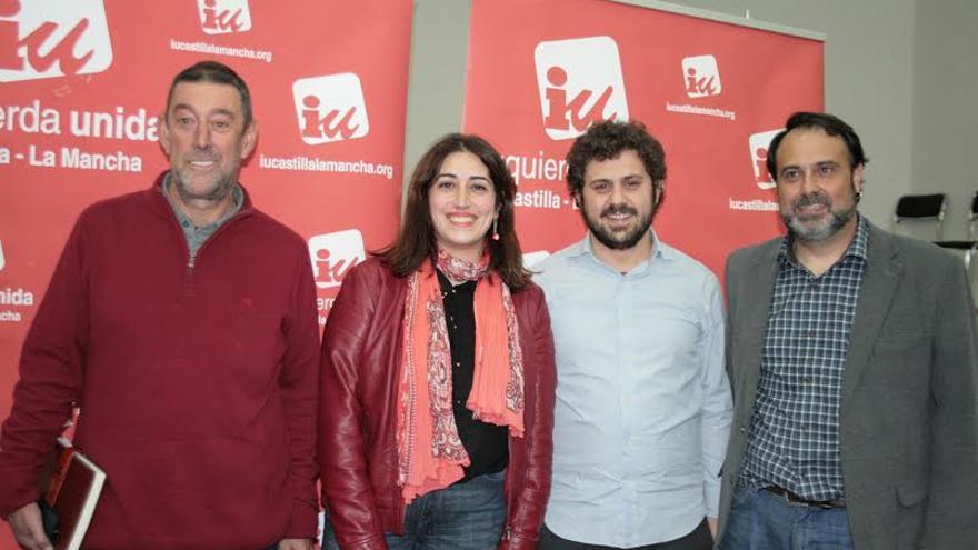 Candidatos de las primarias de Izquierda Unida en Castilla-La Mancha / Foto: Francisca Bravo