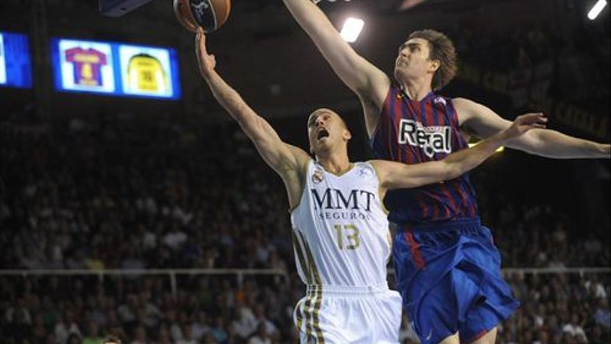 Imagen de la final de los play off por el título ACB (EUROPA PRESS).