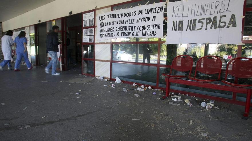 El Síndic abre una queja de oficio ante la falta de limpieza del hospital de Alicante