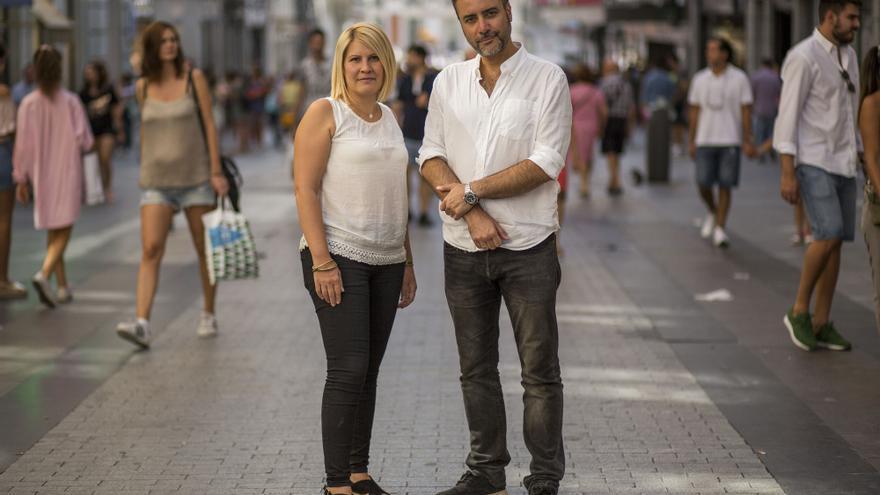 Silvia Barquero y Luis Víctor Moreno, presidente y vicepresidente de Pacma. / S.P