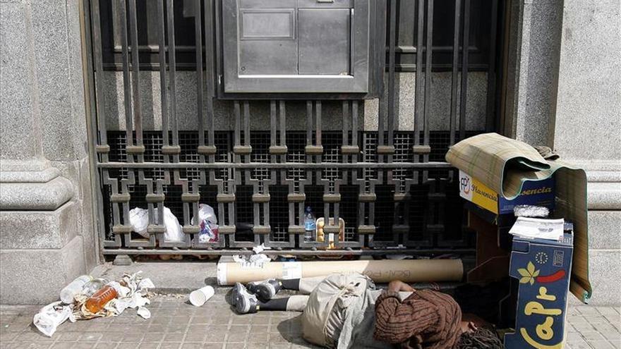 Unos 2.800 barceloneses no tienen hogar y la cifra va en aumento