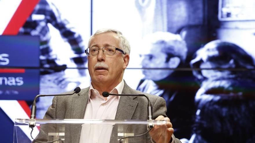 UGT y CCOO se manifestarán el 18 de diciembre en Madrid contra la política del Gobierno