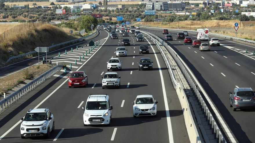 Los viajes por carretera bajan un 10 % en la primera semana de agosto