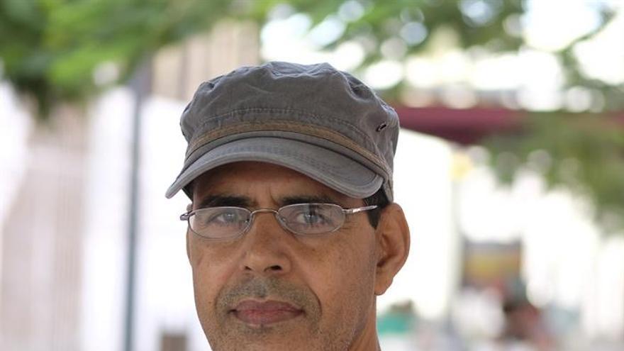 Mohamed Ould Mohamed posa durante la entrevista.