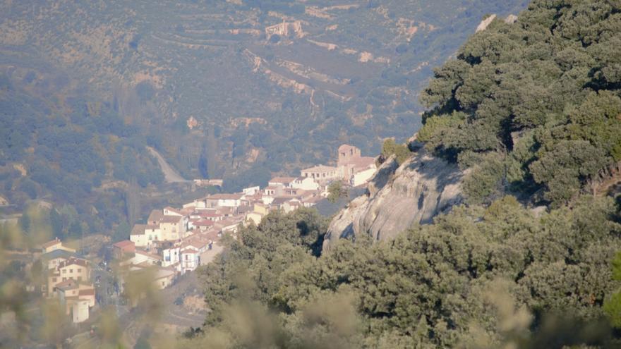 Vista de Todolella (Castellón).
