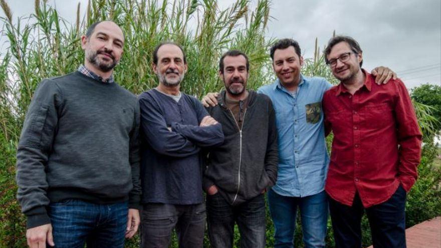 Los integrantes de Urbàlia Rurana