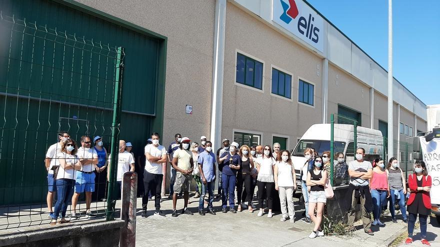 Elis se compromete a mantener la actividad de su lavandería industrial en Cabezón tras un ERTE hasta final de año