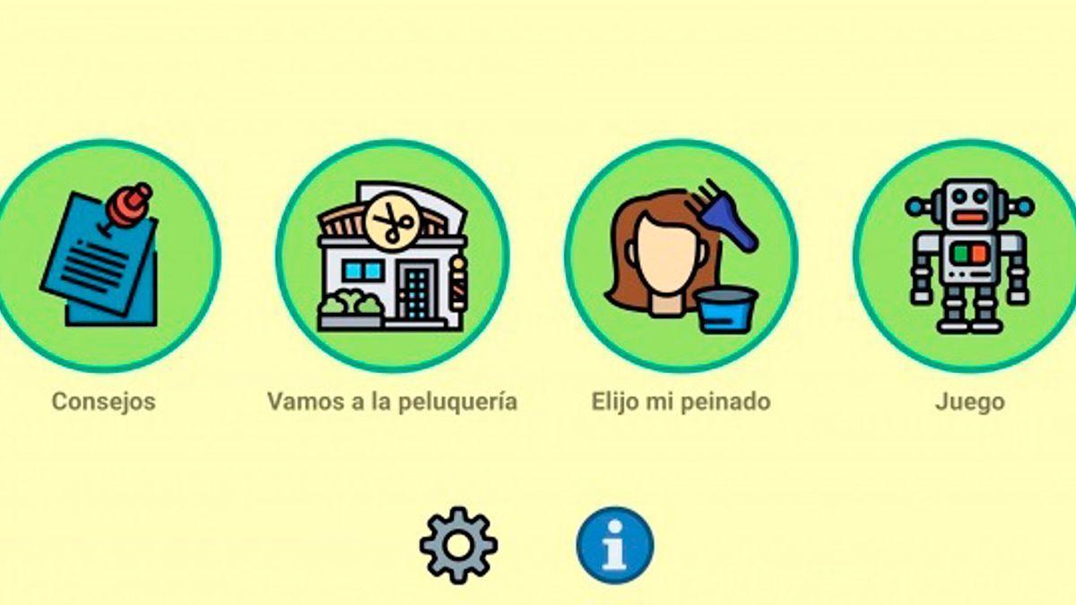 Aplicación 'PeluqueriaTEA' de la UCO.