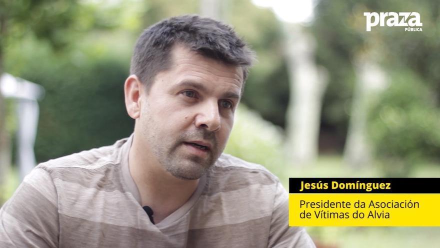Jesús Domínguez, presidente de la plataforma de víctimas del Alvia
