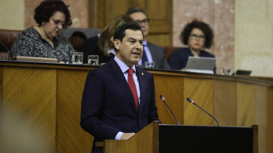 """Moreno pide confianza a los andaluces para que el """"cambio profundo"""" que se está viviendo sea """"profundo y duradero"""""""
