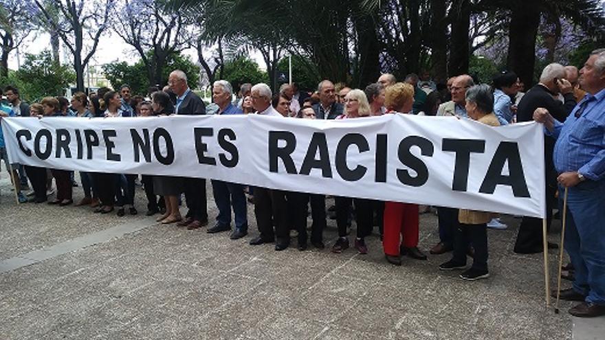 Coripe no es racista