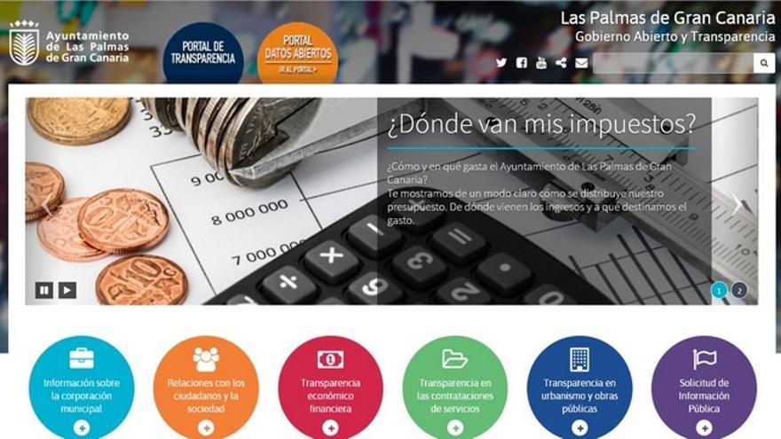 Portal de Transparencia del Ayuntamiento de Las Palmas de Gran Canaria