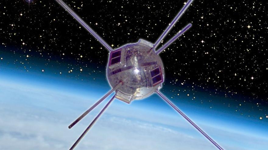El satélite Vanguard 1