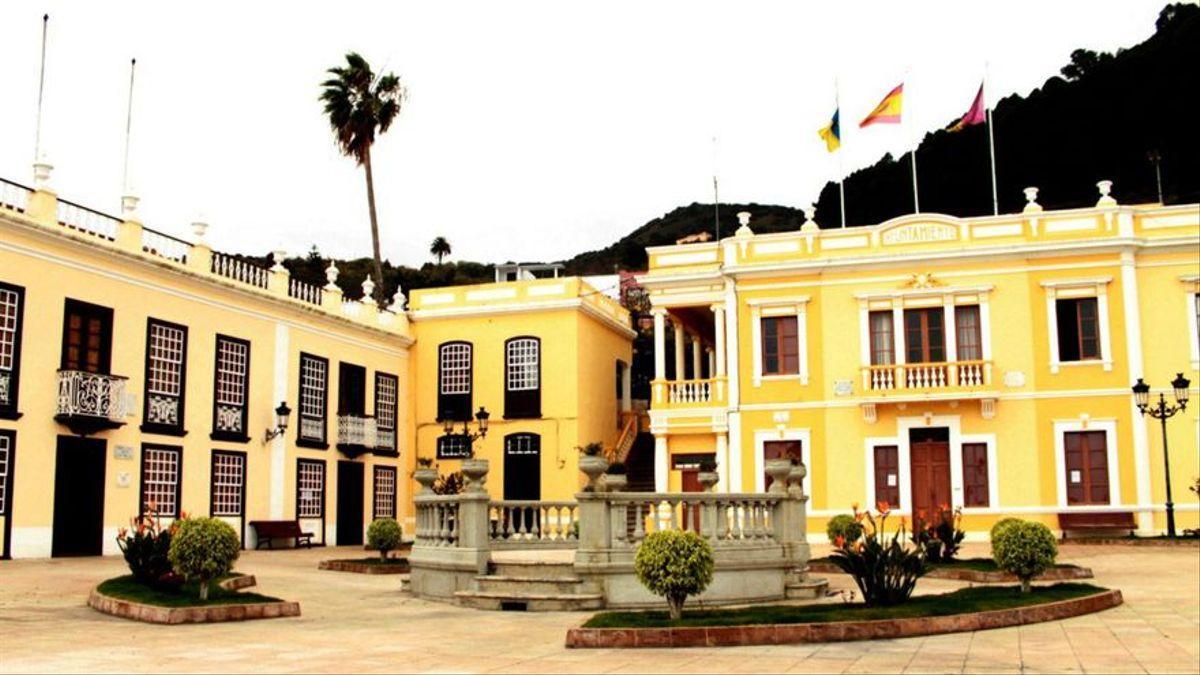 Ayuntamiento de Villa de Mazo. Foto: palmerosenelmundo.com
