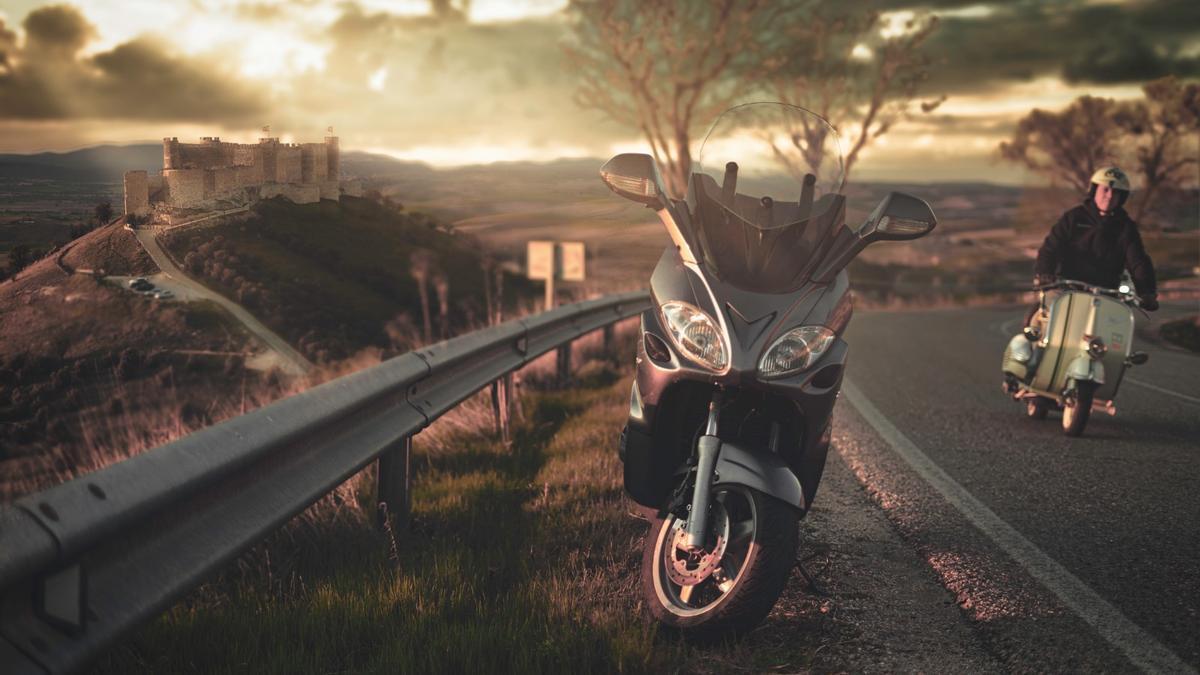 Rutas en moto por Castilla-La Mancha, una de las propuestas de la región para 2021