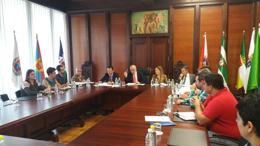 Reunión mantenida para fijar el presupuesto del Consorcio de Vivienda