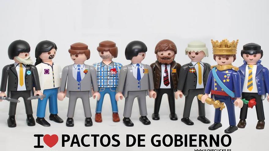 I love pactos de Gobierno