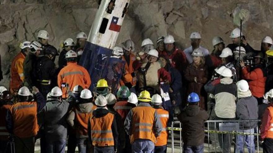 Del rescate en la mina chilena #3