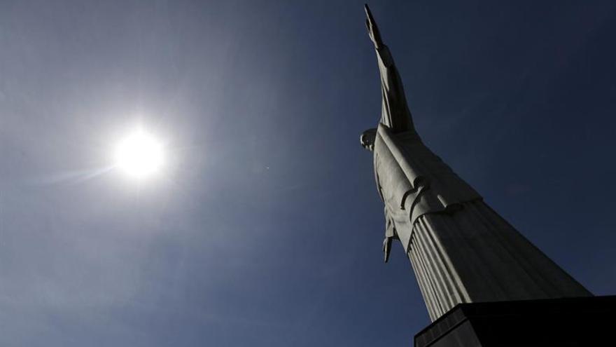 Brasil conmemora el 87º aniversario del Cristo Redentor en Río de Janeiro
