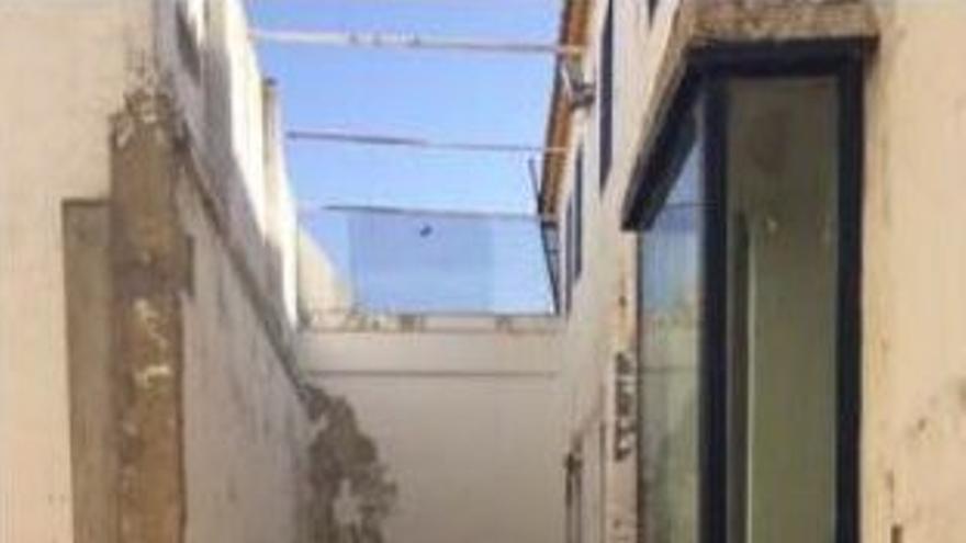 Patio del CIE de Algeciras destinado a mujeres