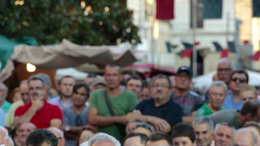 """Leiceaga llama a trabajar por """"una alternativa"""", pues el CIS revela que el 57% de los gallegos quieren cambio"""