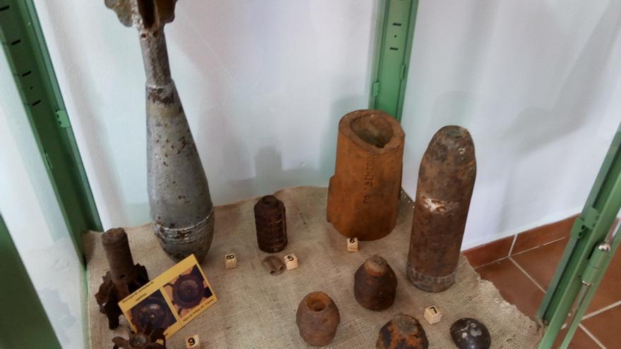 Restos de armamento pesado / JCD