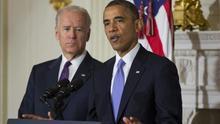 Obama anuncia su apoyo a Joe Biden en la carrera por la presidencia de EEUU
