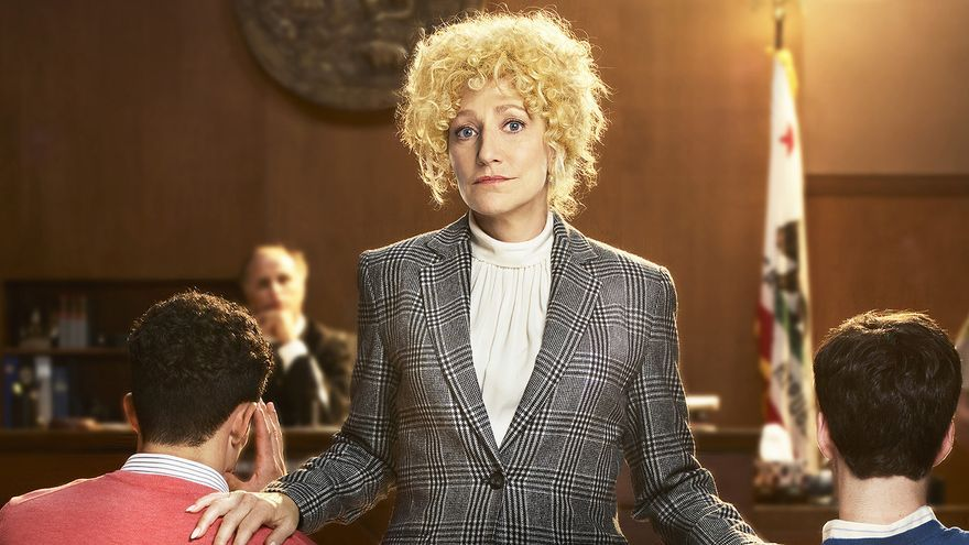 Edie Falco en la serie