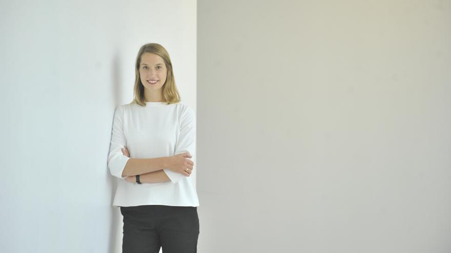 Wiebke Bartz-Zuccala, analista de políticas de la OCDE especializada en financiación de la sostenibilidad