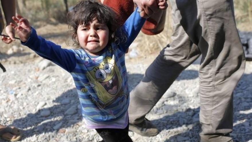 Miles de niños han llegado solos a Europa entre los refugiados. Foto: EFE