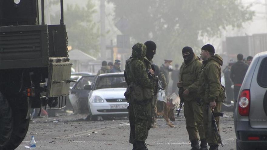 Mueren ocho personas en doble atentado con coches bomba en el Cáucaso