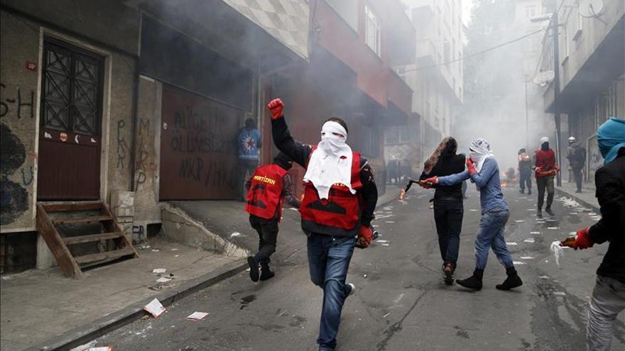 Más de un centenar de personas detenidas en Estambul por actos del 1 de Mayo