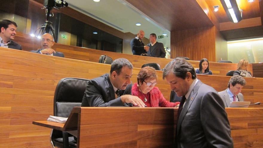 La ejecución presupuestaria en Asturias vuelve a enfrentar a PSOE con IU y UPyD