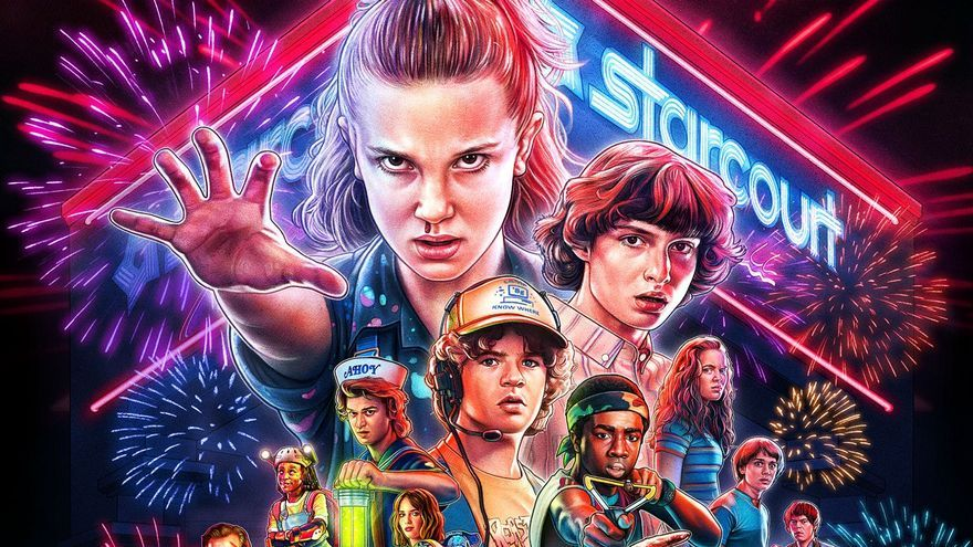 Póster Stranger Things 3