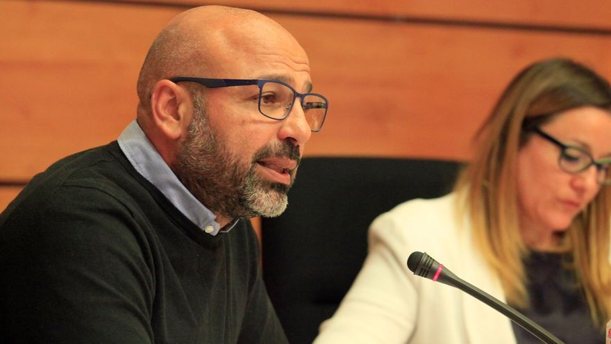 José García Molina explica su patrimonio ante las Cortes regionales de CLM