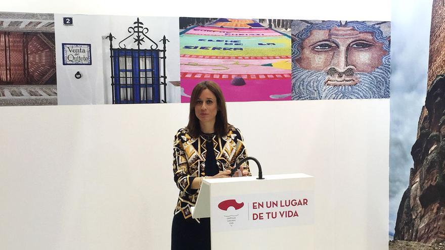 La directora general de Turismo de Castilla-La Mancha en INTUR 2015