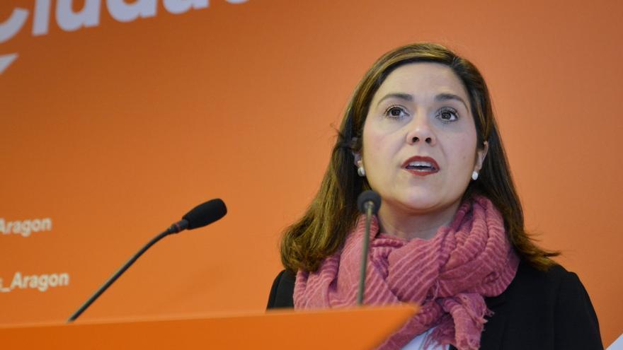 La portavoz de Ciudadanos Aragón, Susana Gaspar