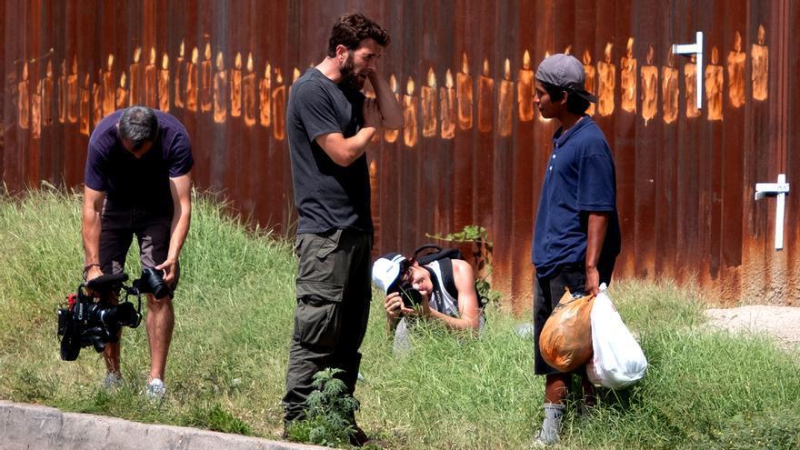 Gonzo en su documental 'Detrás del muro'