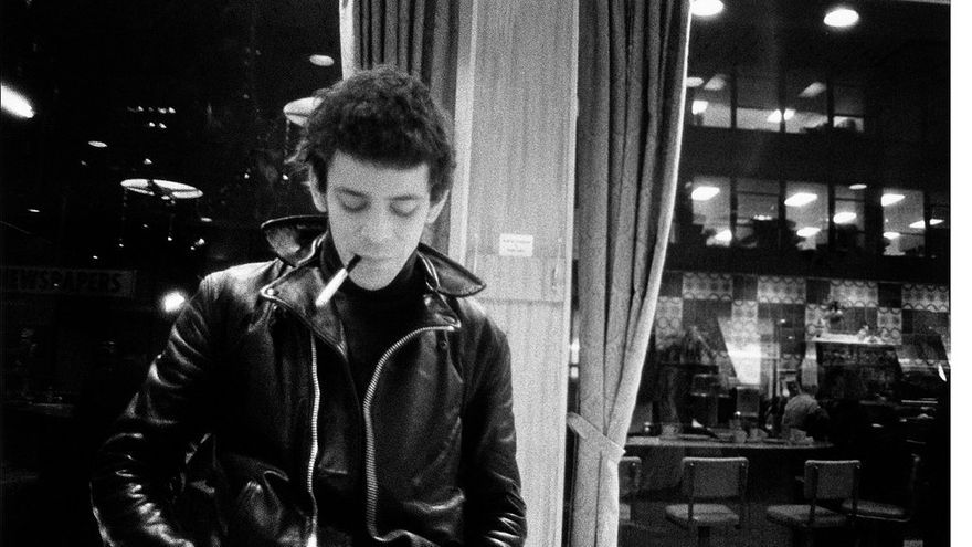 Lou Reed retratado por el fotógrafo de Factory Billy Name/ From Billy Name Silver Age
