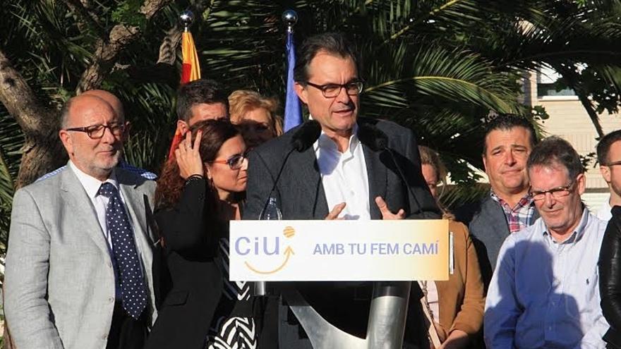 """Mas acusa al Estado de """"inepto"""" por su gestión de Cercanías en Cataluña"""