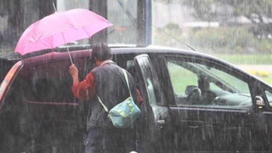 Lluvia En Madrid