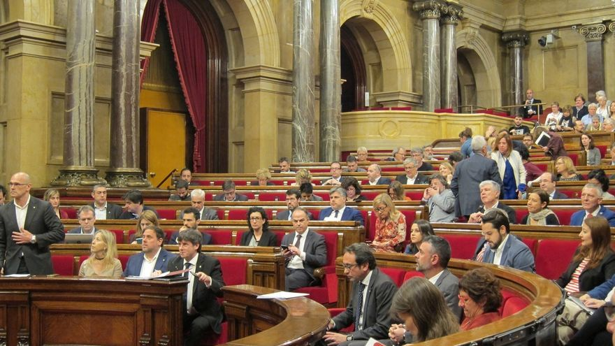 El boletín del Parlament catalán publica los Presupuestos 2017 que financian el referéndum
