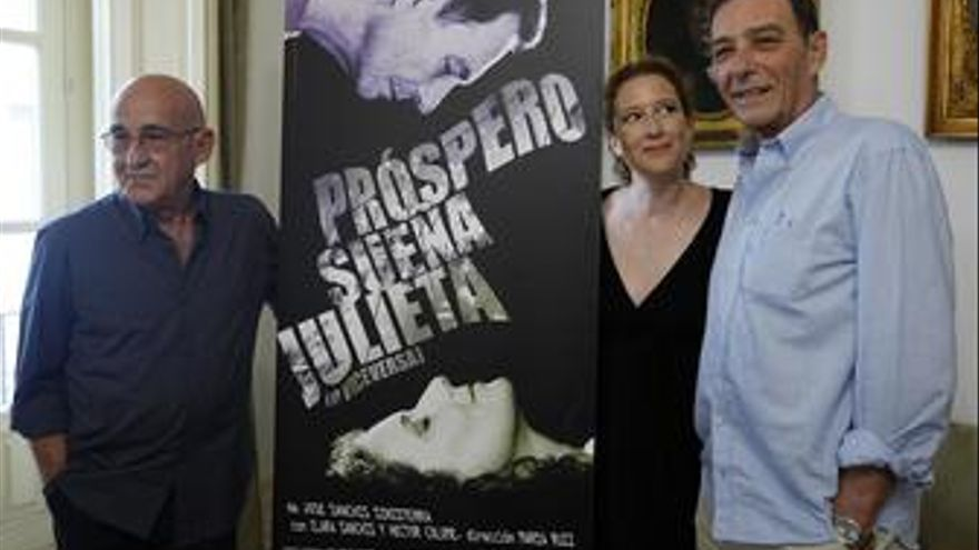 Presentación de 'Próspero sueña Julieta (o viceversa)'