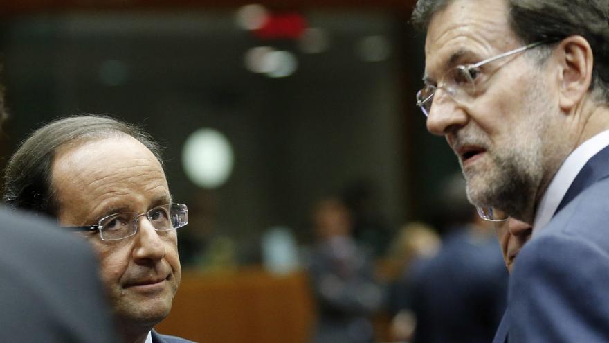 Hollande transmitirá a Rajoy su apoyo a la gestión de la crisis económica