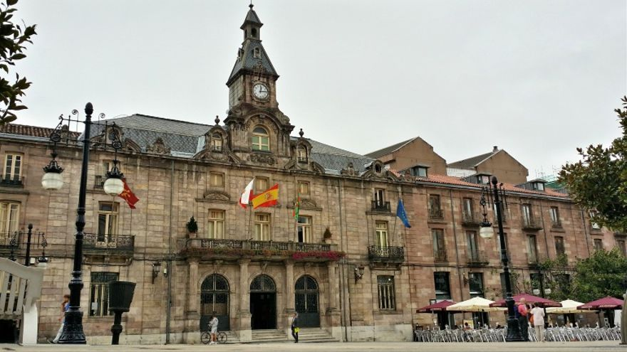 Plaza Mayor de Torrelavega.