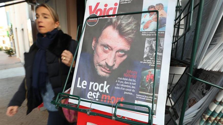 Francia prepara un homenaje multitudinario en París a Johnny Hallyday