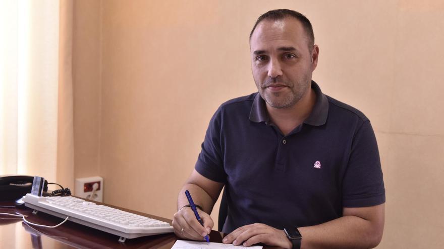 Luis Camacho, consejero de Hacienda y Recursos Humanos del Cabildo de La Palma.