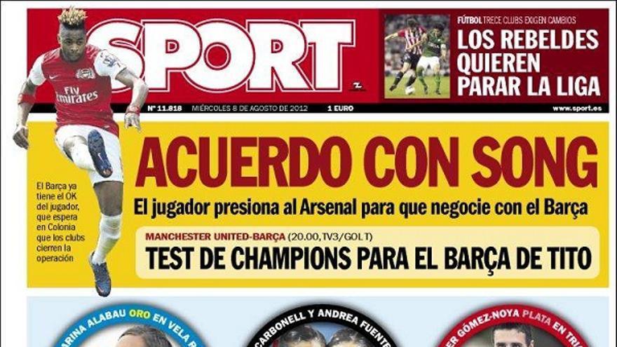 De las portadas del día (08/08/2012) #14