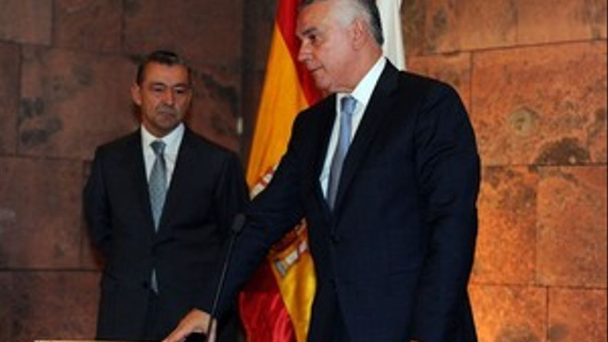Juan Ramón Hernández, en la toma de posesión. (ACFI PRESS)