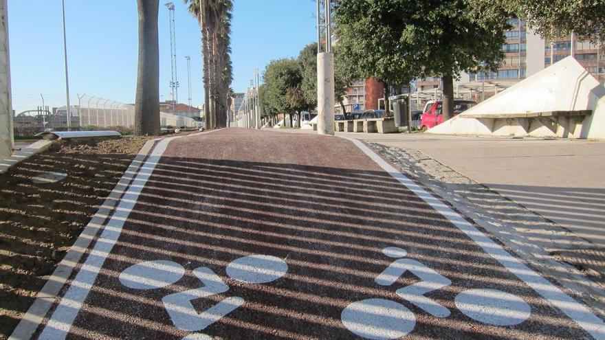 La Mesa de Movilidad se opone a hacer carriles bici en las aceras de la Alameda y la avenida Valdecilla